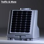 Solarbox zonnepanelen aanstraalverlichting